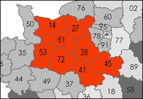 Implanté à Mortagne-au-Perche, Activ Diag intervient dans l'Orne, la Sarthe, l'Eure, l'Eure-et-Loir, le Calvados, la Mayenne, le Loir-et-Cher et le Loiret